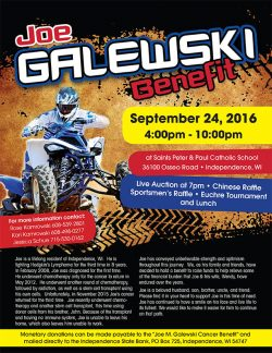 Joe Galewski Benefit @ Ss. Peter & Paul Catholic School