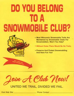 Join A Snowmobile Club Today