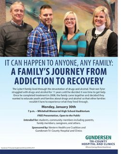 A Family's Journey From Addiction To Recovery @ Whitehall High School