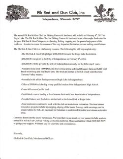 Support The Independence Ice Fishing Contest