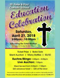 Ss. Peter & Paul Catholic School Education Celebration