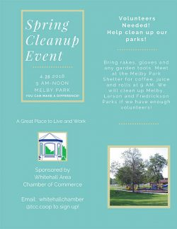 Spring Cleanup In Whitehall