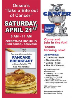 "Osseo's ""Take A Bite Out Of Cancer"""