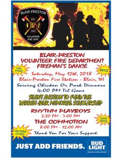 Blair-Preston Fireman's Dance