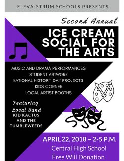Eleva-Strum Ice Cream Social For The Arts