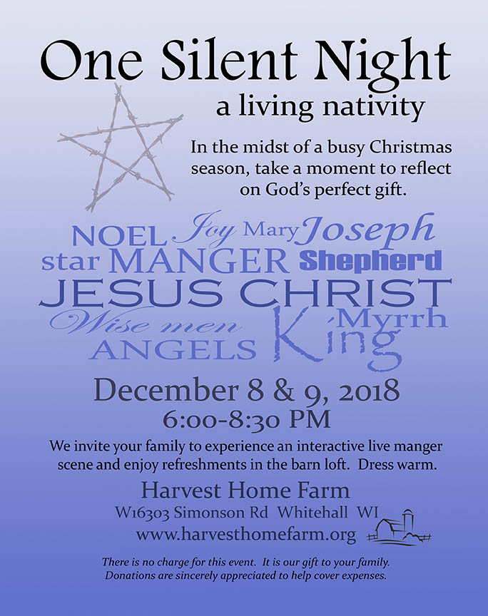 One Silent Night A Living Nativity Whtl Radio Whtl Radio